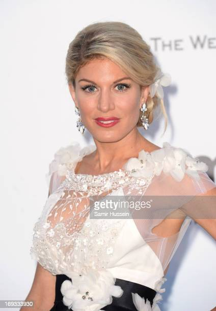 Hofit Golan attends amfAR's 20th Annual Cinema Against AIDS during The 66th Annual Cannes Film Festival at Hotel du CapEdenRoc on May 23 2013 in Cap...