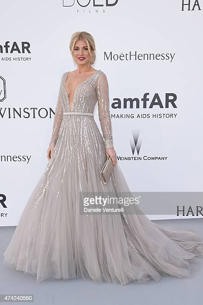 Hofit Golan attends amfAR's 22nd Cinema Against AIDS Gala Presented By Bold Films And Harry Winston at Hotel du CapEdenRoc on May 21 2015 in Cap...