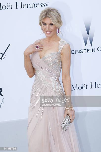 Hofit Golan attends amfAR's Cinema Against AIDS Gala during the 64th Annual Cannes Film Festival at Hotel Du Cap on May 19 2011 in Antibes France