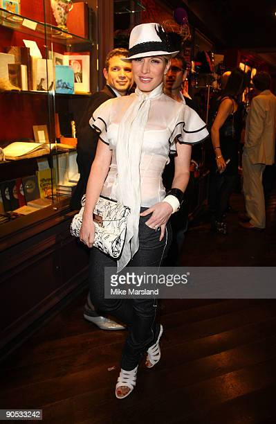 Hofit Golan attends private view of Coco De Mer And John Stoddart: Love And Lust on September 9, 2009 in London, England.