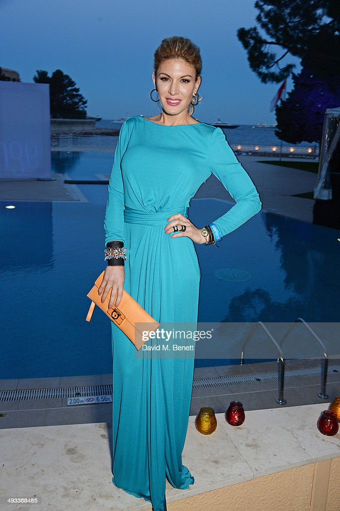 Hofit Golan attends the Amber Lounge 2014 Gala at Le Meridien Beach Plaza Hotel on May 23, 2014 in Monaco, Monaco.