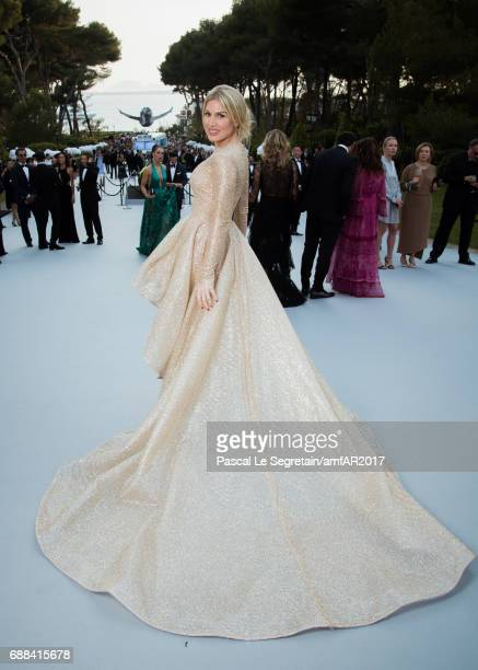 Hofit Golan attends the amfAR Gala Cannes 2017 at Hotel du CapEdenRoc on May 25 2017 in Cap d'Antibes France