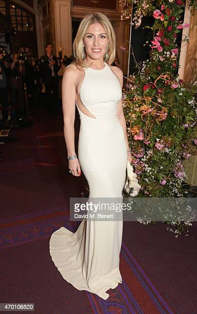 Hofit Golan attends The Backstage Gala in aid of The Naked Heart Foundation at The London Coliseum on April 17 2015 in London England
