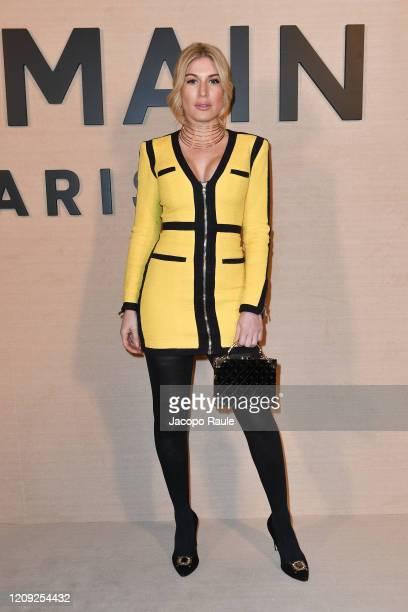Hofit Golan attends the Balmain show as part of the Paris Fashion Week Womenswear Fall/Winter 2020/2021 on February 28 2020 in Paris France