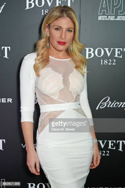Hofit Golan attends the BOVET 1822 Brilliant is Beautiful Gala benefitting Artists for Peace and Justice's Global Education Fund for Women and Girls...