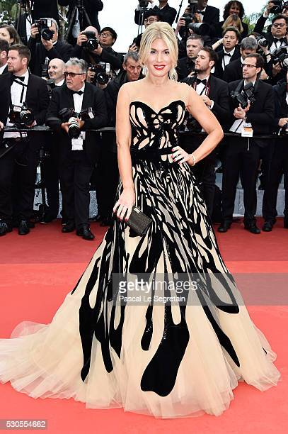 Hofit Golan attends the 'Cafe Society' premiere and the Opening Night Gala during the 69th annual Cannes Film Festival at the Palais des Festivals on...