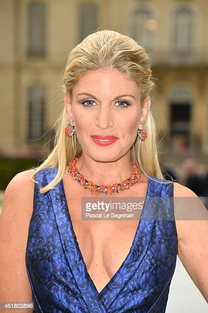 Hofit Golan attends the Christian Dior show as part of Paris Fashion Week Haute Couture Fall/Winter 20142015 on July 7 2014 in Paris France