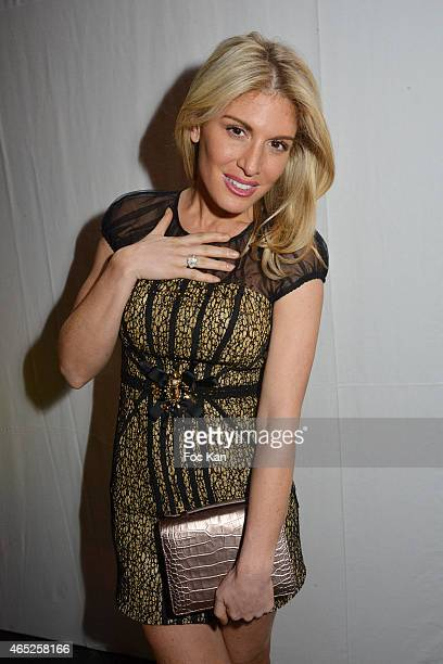 Hofit Golan attends the Christophe Guillarme show as part of the Paris Fashion Week Womenswear Fall/Winter 2015/2016 on March 4 2015 in Paris France