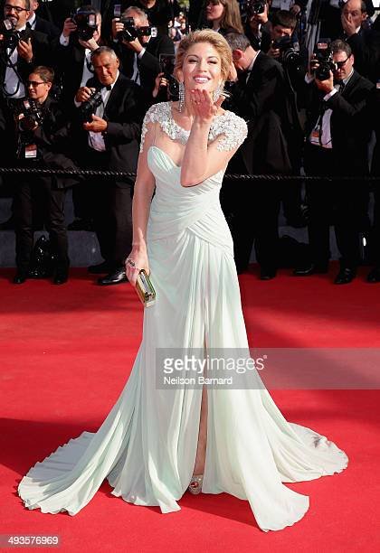 Hofit Golan attends the Closing Ceremony and 'A Fistful of Dollars' screening during the 67th Annual Cannes Film Festival on May 24 2014 in Cannes...