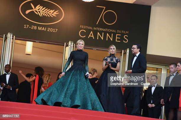 Hofit Golan attends the Closing Ceremony during the 70th annual Cannes Film Festival at Palais des Festivals on May 28 2017 in Cannes France