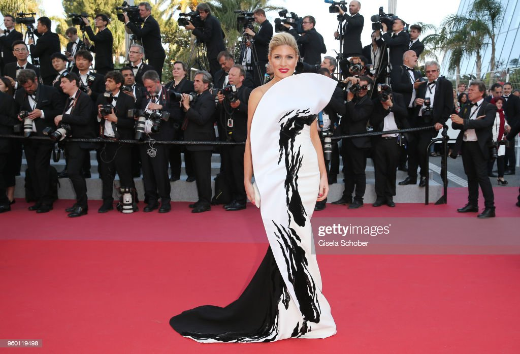 "FRA: Closing Ceremony & ""The Man Who Killed Don Quixote"" Red Carpet Arrivals - The 71st Annual Cannes Film Festival"