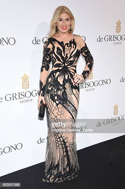 Hofit Golan attends the De Grisogono Party during the annual 69th Cannes Film Festival at Hotel du CapEdenRoc on May 17 2016 in Cap d'Antibes France