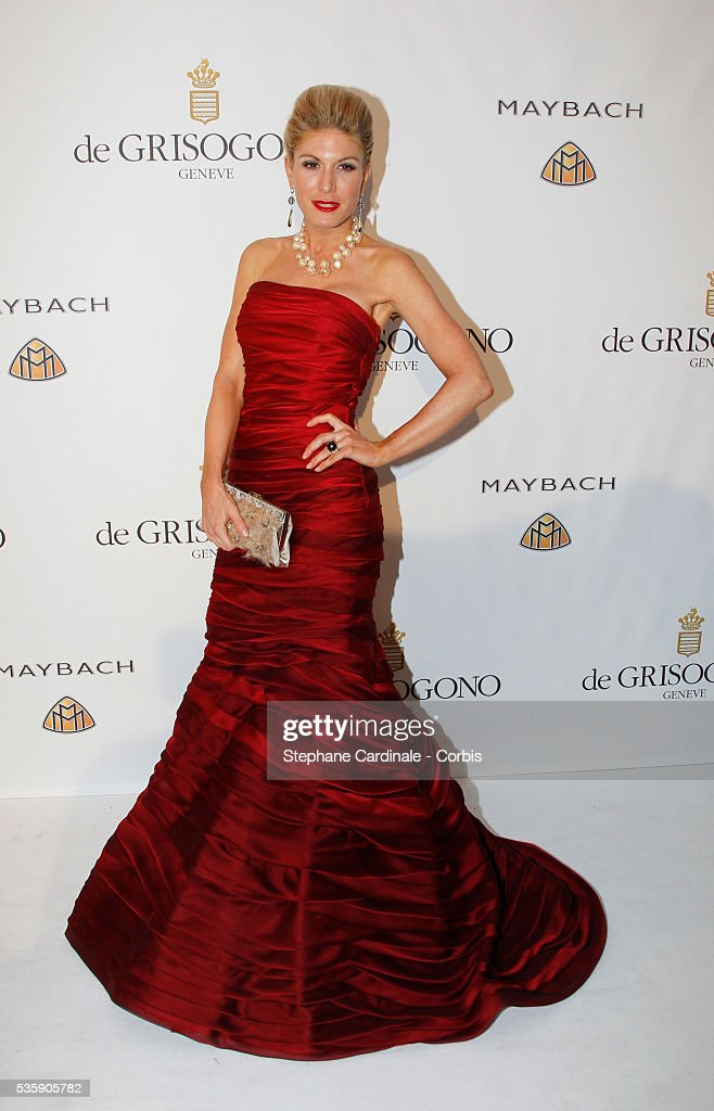 Hofit Golan attends the 'de Grisono Party' during the 63 th Cannes International Film Festival.