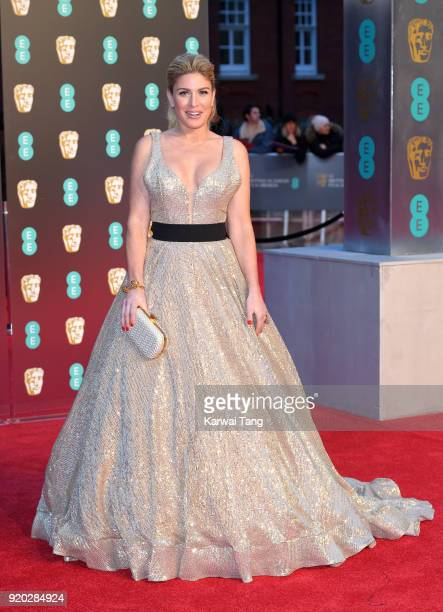 Hofit Golan attends the EE British Academy Film Awards held at the Royal Albert Hall on February 18 2018 in London England