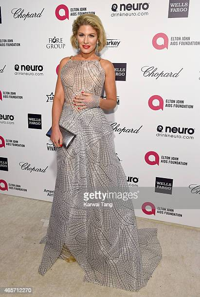 Hofit Golan attends the Elton John AIDS Foundation's 23rd annual Academy Awards Viewing Party at The City of West Hollywood Park on February 22 2015...