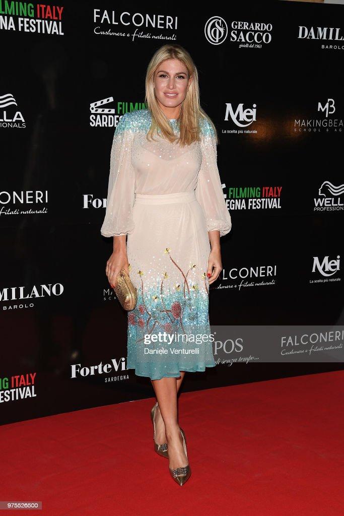 Hofit Golan attends the 'Filming Italy Sardegna Festival' Dinner at Forte Village Resort on June 15, 2018 in Santa Margherita di Pula, Cagliari, Italy.