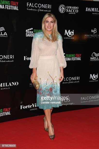 Hofit Golan attends the 'Filming Italy Sardegna Festival' Dinner at Forte Village Resort on June 15 2018 in Santa Margherita di Pula Cagliari Italy