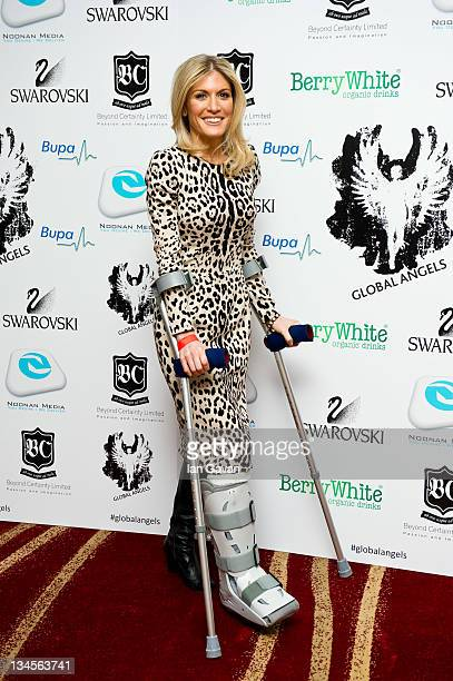 Hofit Golan attends The Global Angel Awards at Park Plaza Westminster Bridge Hotel on December 2 2011 in London England