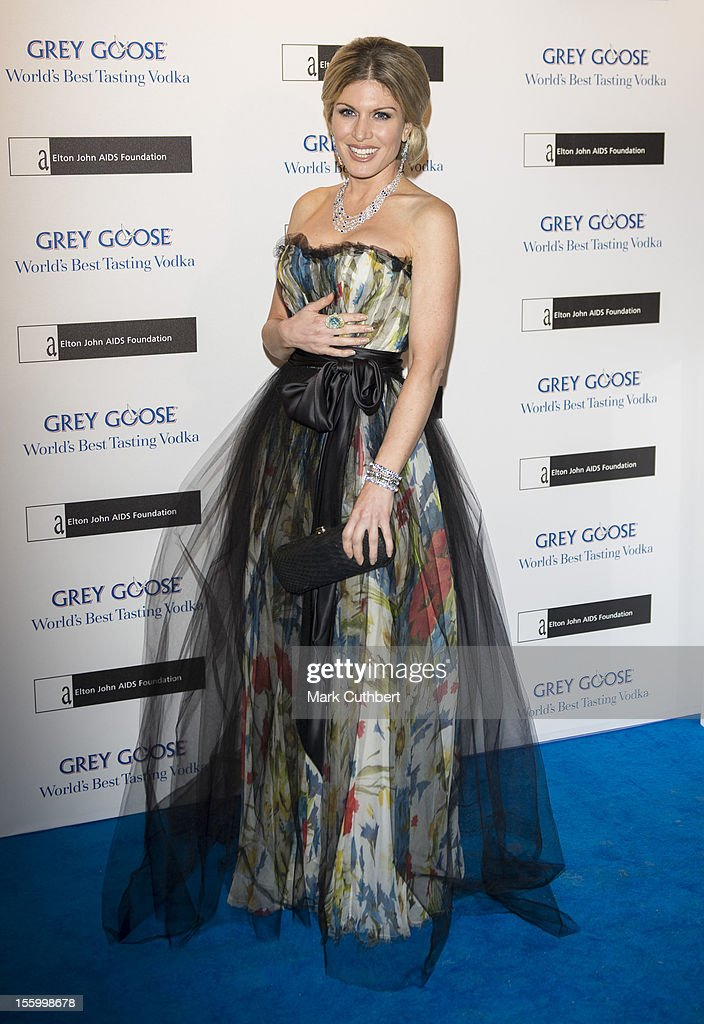 Hofit Golan attends the Grey Goose Winter Ball at Battersea Power station on November 10, 2012 in London, England.