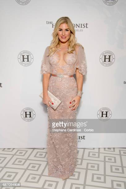 Hofit Golan attends The Harmonist Party during the 70th annual Cannes Film Festival at on May 22 2017 in Cannes France