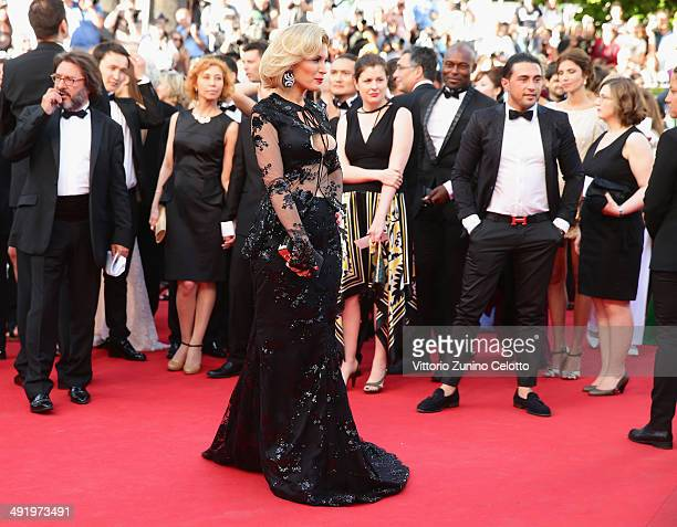 Hofit Golan attends 'The Homesman' premiere during the 67th Annual Cannes Film Festival on May 18 2014 in Cannes France