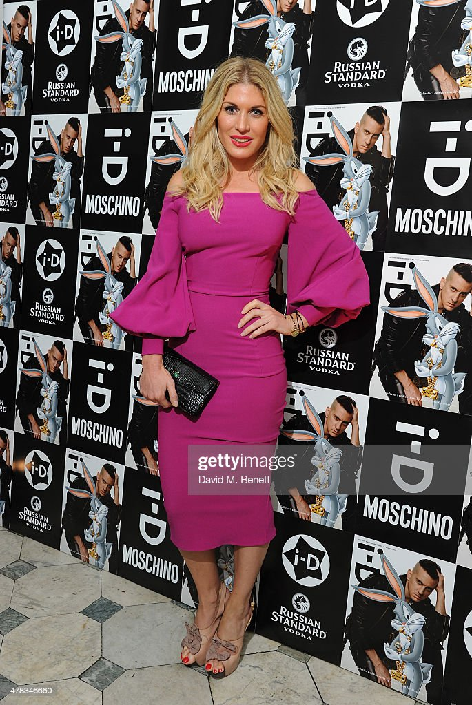 Hofit Golan attends the i-D 35 x Jeremy Scott for Moschino party celebrating i-D Magazine's 35th anniversary at Il Bottaccio on June 24, 2015 in London, England.