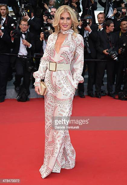 Hofit Golan attends the 'Irrational Man' Premiere during the 68th annual Cannes Film Festival on May 15 2015 in Cannes France