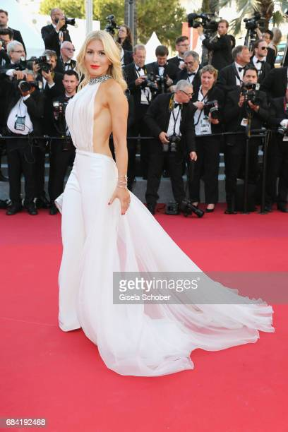 Hofit Golan attends the Ismael's Ghosts screening and Opening Gala during the 70th annual Cannes Film Festival at Palais des Festivals on May 17 2017...