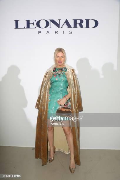 Hofit Golan attends the Leonard Paris show as part of the Paris Fashion Week Womenswear Fall/Winter 2020/2021 on February 27 2020 in Paris France