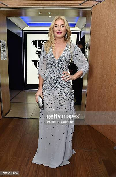 Hofit Golan attends the L'Oreal Paris Blue Obsession Party at the annual 69th Cannes Film Festival at Hotel Martinez on May 18 2016 in Cannes France