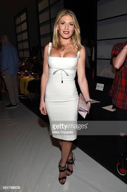 Hofit Golan attends the MercedesBenz Lounge during MercedesBenz Fashion Week Spring 2015 at Lincoln Center on September 6 2014 in New York City