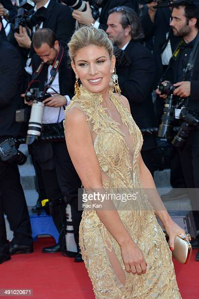 Hofit Golan attends the 'Mr Turner' Premiere at the 67th Annual Cannes Film Festival at Palais des Festivals on May 15 2014 in Cannes France