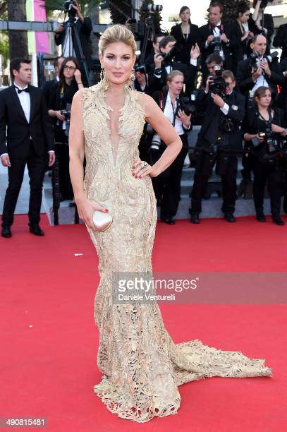 Hofit Golan attends the MrTurner Premiere at the 67th Annual Cannes Film Festival on May 15 2014 in Cannes France