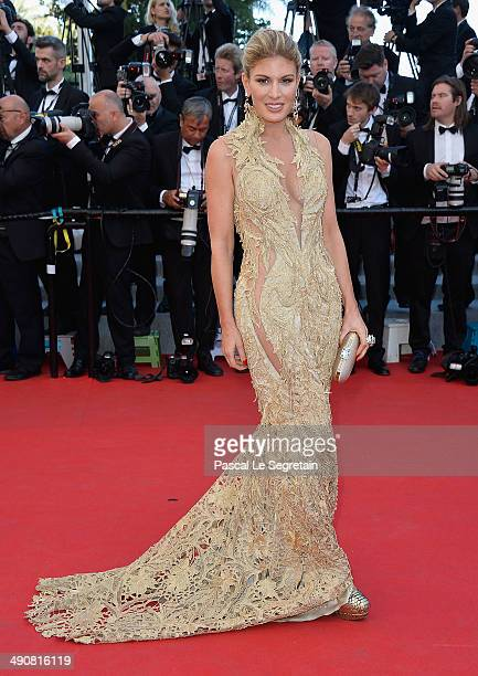 Hofit Golan attends the 'MrTurner' Premiere at the 67th Annual Cannes Film Festival on May 15 2014 in Cannes France