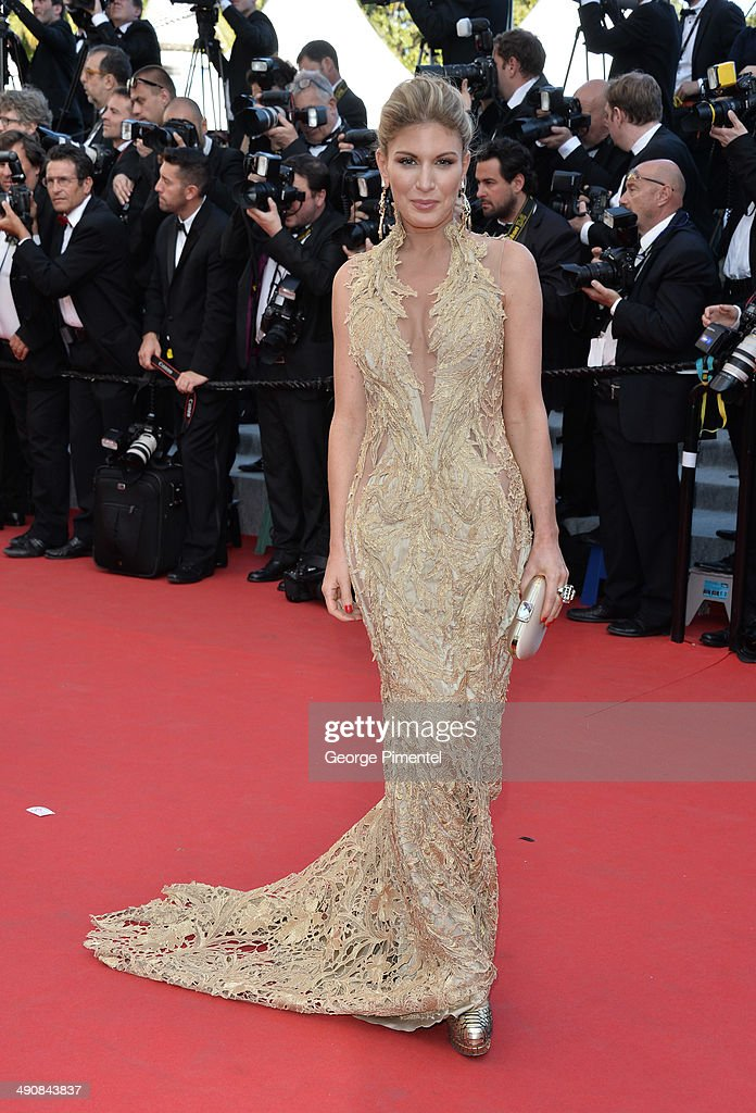 Hofit Golan attends the 'Mr.Turner' Premiere at the 67th Annual Cannes Film Festival on May 15, 2014 in Cannes, France.