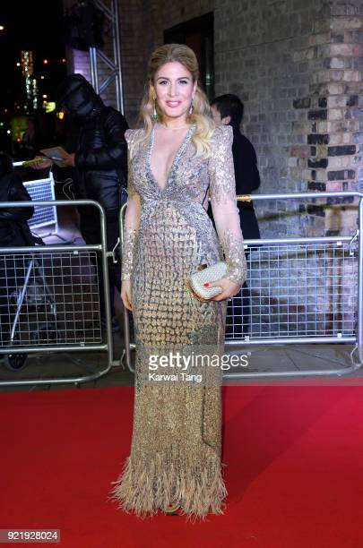Hofit Golan attends the Naked Heart Foundation's Fabulous Fund Fair during London Fashion Week February 2018 at the Roundhouse on February 20 2018 in...