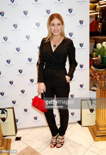 Hofit Golan attends the new flagship store launch of Aspinal on Regent's Street St James's on December 5 2017 in London England