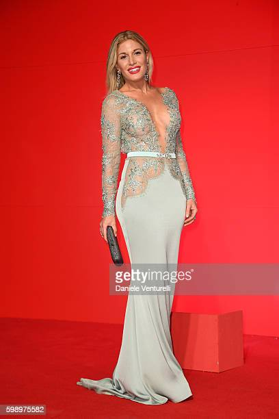 Hofit Golan attends the premiere of 'In Dubious Battle' during the 73rd Venice Film Festival at Sala Giardino on September 3 2016 in Venice Italy