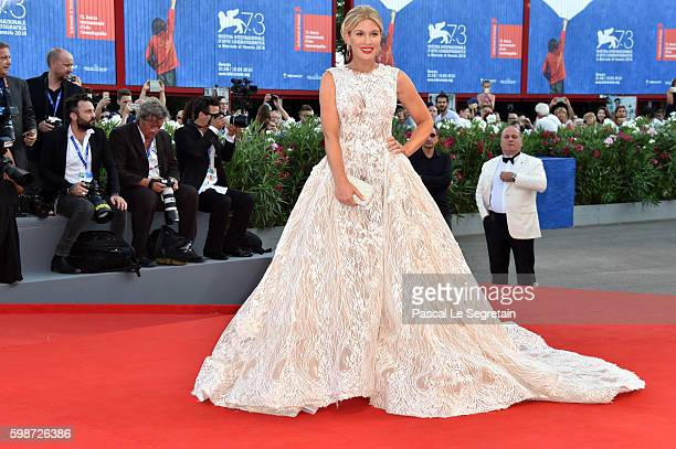 Hofit Golan attends the premiere of 'Nocturnal Animals' during the 73rd Venice Film Festival at Sala Grande on September 2 2016 in Venice Italy
