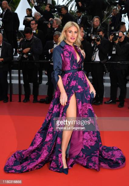 Hofit Golan attends the screening of A Hidden Life during the 72nd annual Cannes Film Festival on May 19 2019 in Cannes France