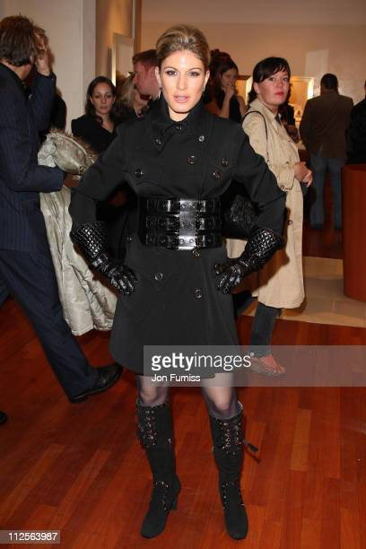 Hofit Golan attends the Sleuth After Party at the Bulgari Store on November 18 2007 in London