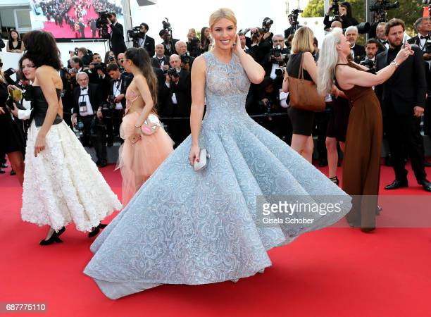 Hofit Golan attends the 'The Beguiled' screening during the 70th annual Cannes Film Festival at Palais des Festivals on May 24 2017 in Cannes France