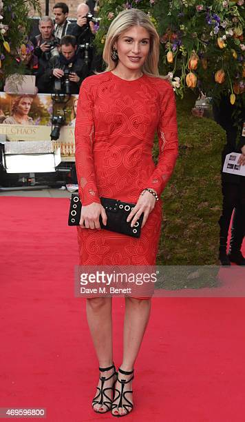 Hofit Golan attends the UK premiere of A Little Chaos at ODEON Kensington on April 13 2015 in London England