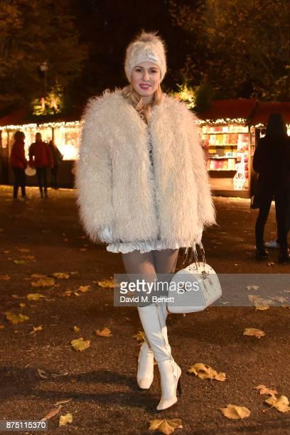 Hofit Golan attends the VIP launch of Hyde Park Winter Wonderland 2017 on November 16 2017 in London England