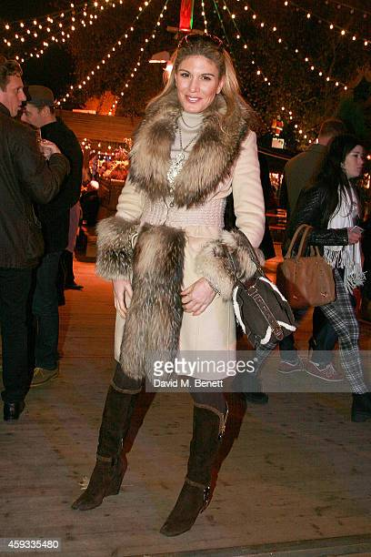 Hofit Golan attends the Winter Wonderland VIP opening at Hyde Park on November 20 2014 in London England