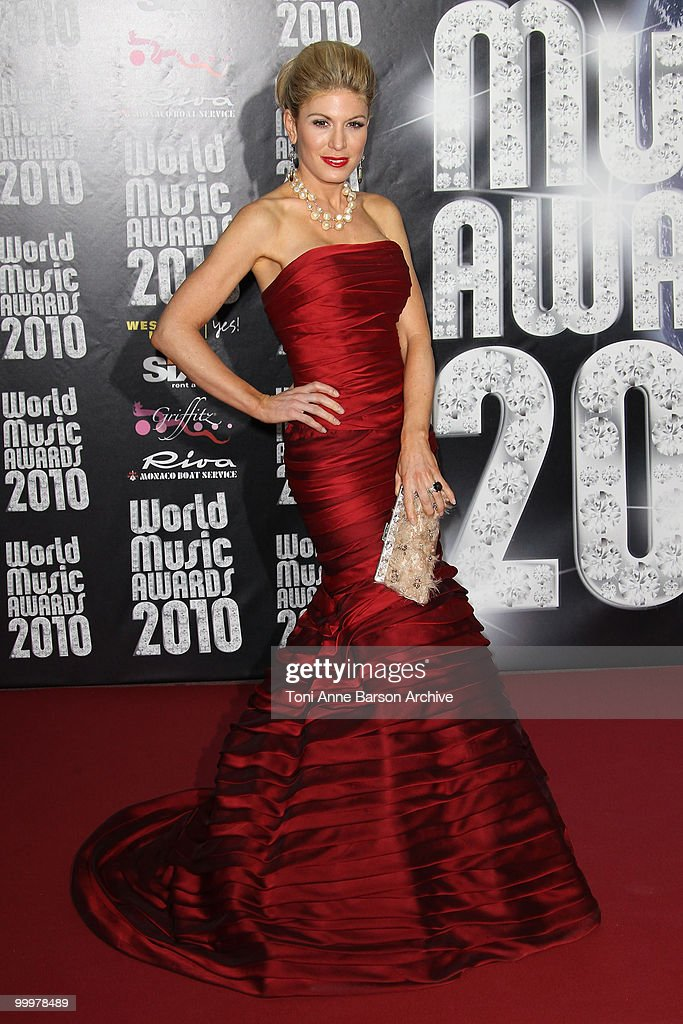 Hofit Golan attends the World Music Awards 2010 at the Sporting Club on May 18, 2010 in Monte Carlo, Monaco.