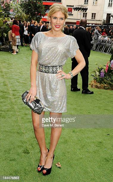 Hofit Golan attends the World Premiere of 'Snow White And The Huntsman' at Empire Leicester Square on May 14 2012 in London England