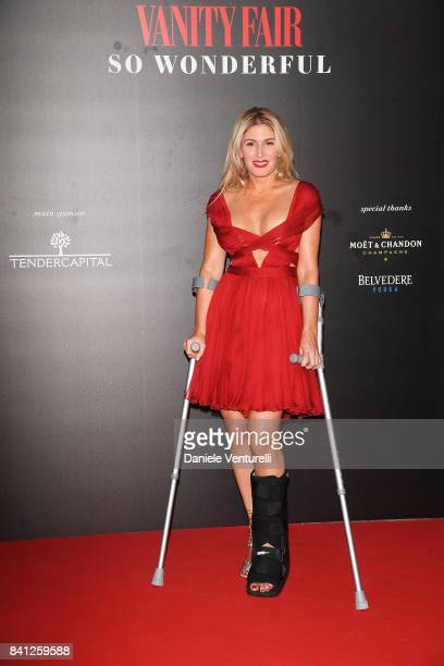 Hofit Golan attends Vanity Fair 'So Wonderful' Party during the 74th Venice Film Festival at Cipriani Hotel on August 31 2017 in Venice Italy