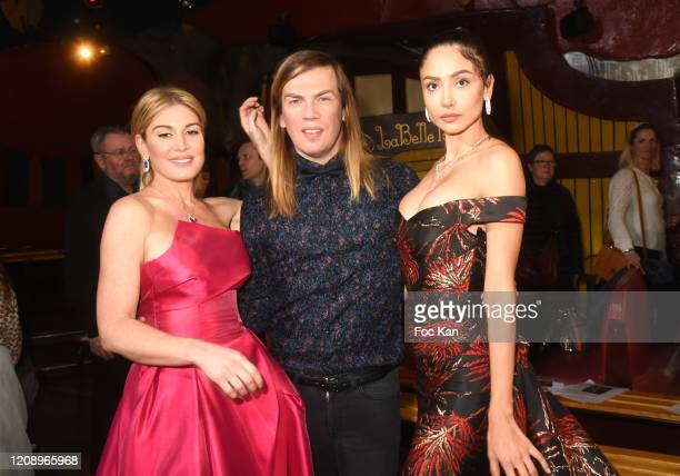 Hofit Golan Christophe Guillarme and Patricia Contreras attend the Christophe Guillarme show as part of the Paris Fashion Week Womenswear Fall/Winter...
