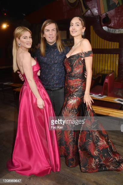 Hofit Golan Christophe Guillarme and Patricia Contreras attends the Christophe Guillarme show as part of the Paris Fashion Week Womenswear...